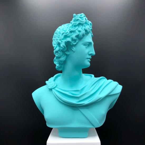 Apollo bust sky blue