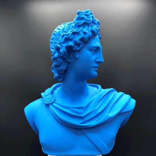 Apollo bust lapis