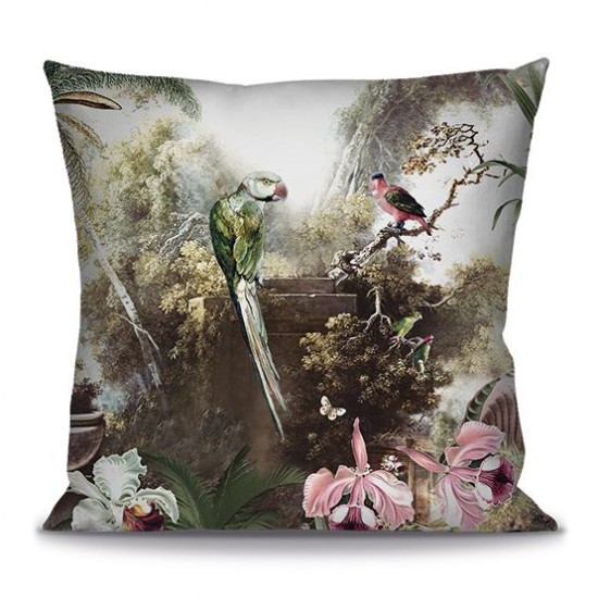Cushion cover ORCHIDEES 60cm