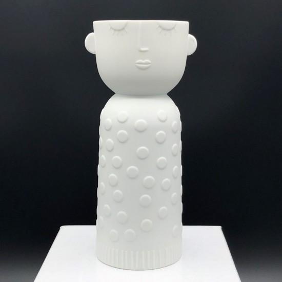 Porcelain candle carrier n°2