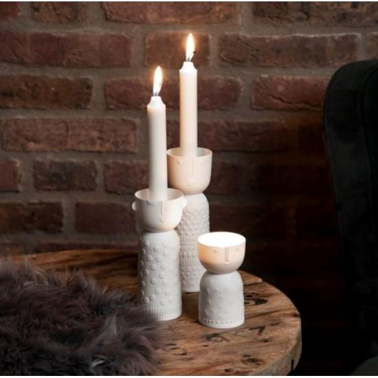 Porcelain candle carrier n°3