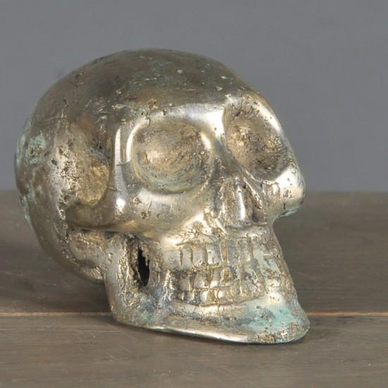 Silvered Skull M
