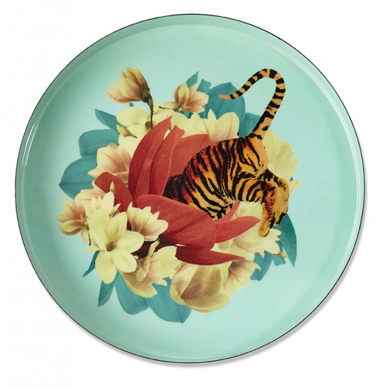 TRAY TIGER FLOWER