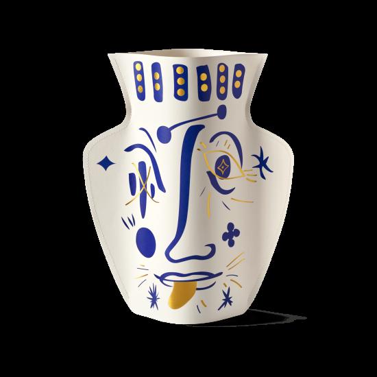 Paper Vase Vasage white