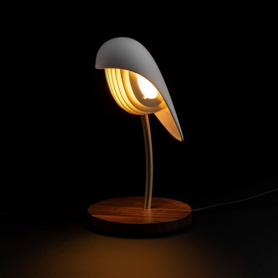 """Bird"" Ambiant Light Ivory..."