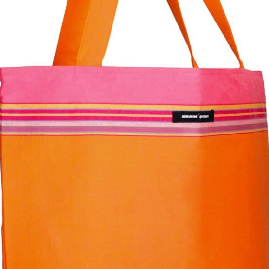 Kikoy cotton beach bag...