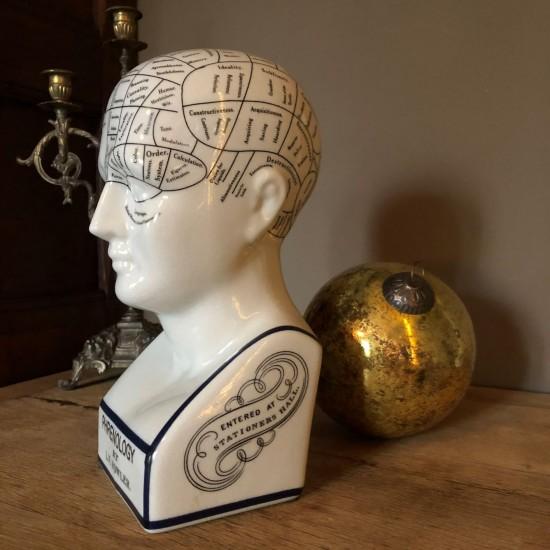 Phrenology head large