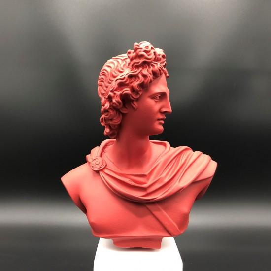 Apollo bust barn-red