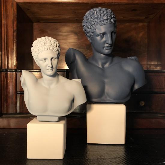 Hermes bust powder blue