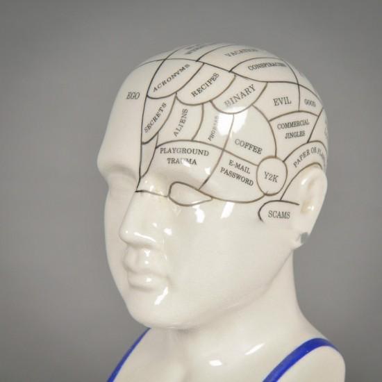 Phrenology head small