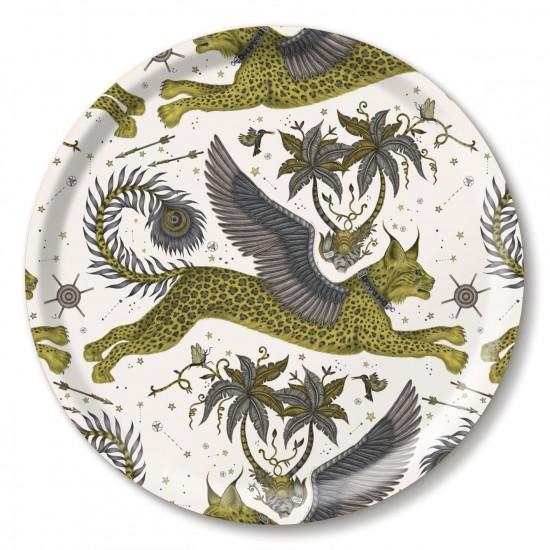 Lynx gold tray